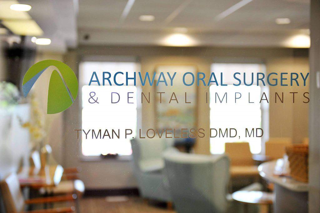 Archway Oral Surgery Entry Door