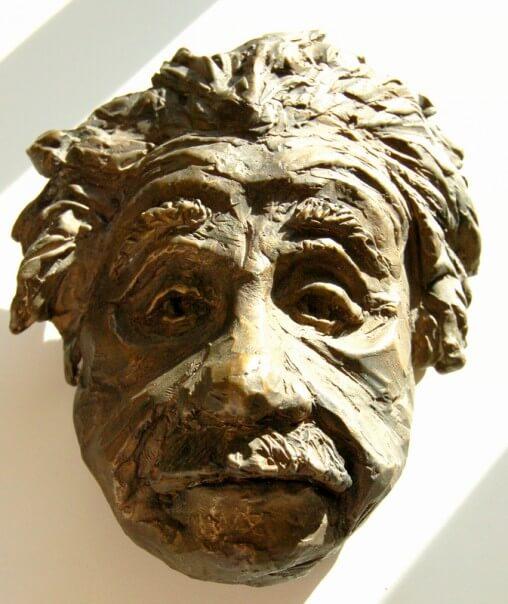 einstein-bronze